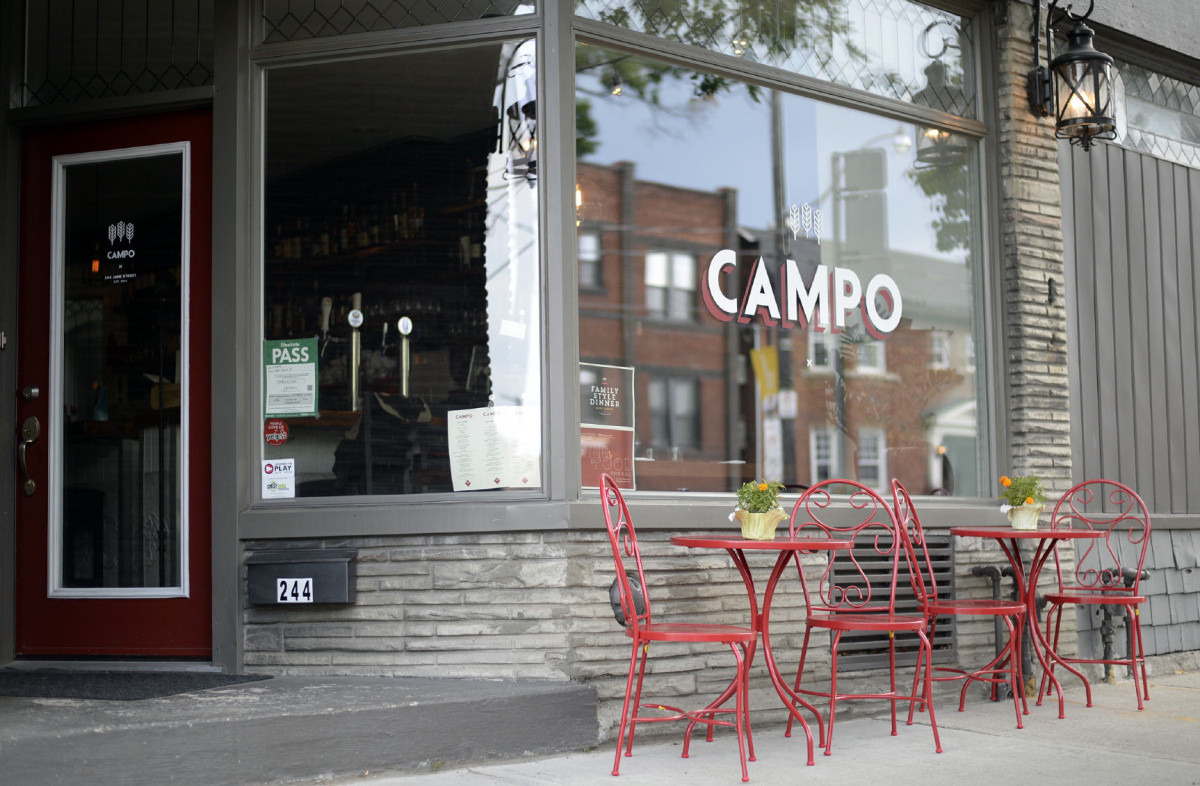 li-dining8-campo -- Campo shown in Toronto, Ontario, July 25, 2015. (Aaron Harris/Toronto Star)     Aaron Harris/Toronto Star