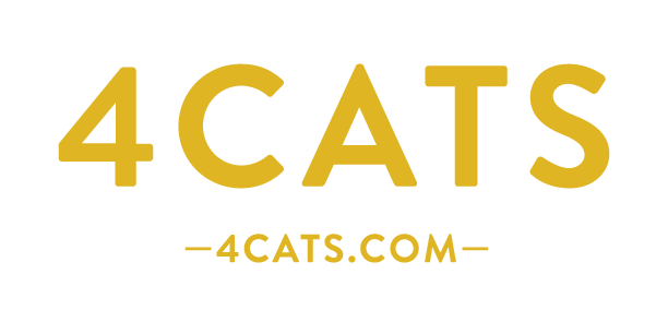 4Cats_logo_gold_on_white_web